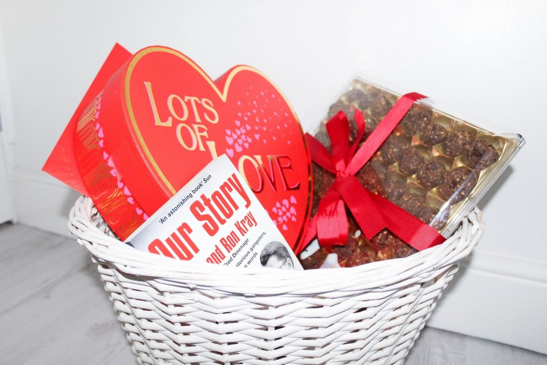 Valentines Day Gift Basket - Husband - Roseyhome