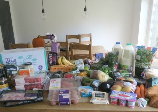 Grocery haul and Meal Plan - 17th October 2016 - Roseyhome - food, grocery haul, sainsburys, meal inspiration, meal plan, family food