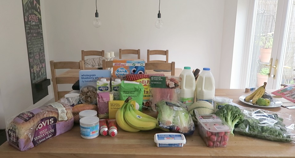 Grocery Haul and Meal Plan - 3rd October 2016 - Roseyhome - food, meal plan, grocery haul, meal inspiration, parenting, clean eating
