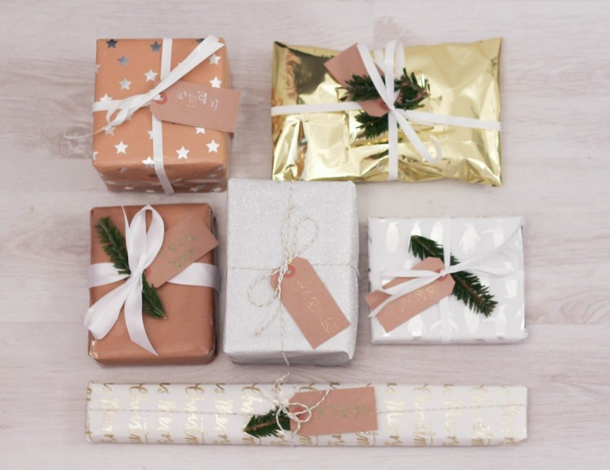 Christmas Wrapping Inspiration - Roseyhome - wrapping, christmas, wrapping paper, gift wrap, gifts, presents