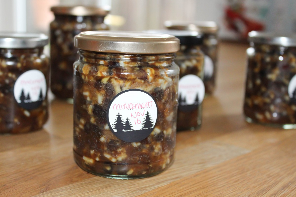 Homemade Mincemeat Recipe - Roseyhome - food, recipe, mincemeat recipe, christmas, edible gifts