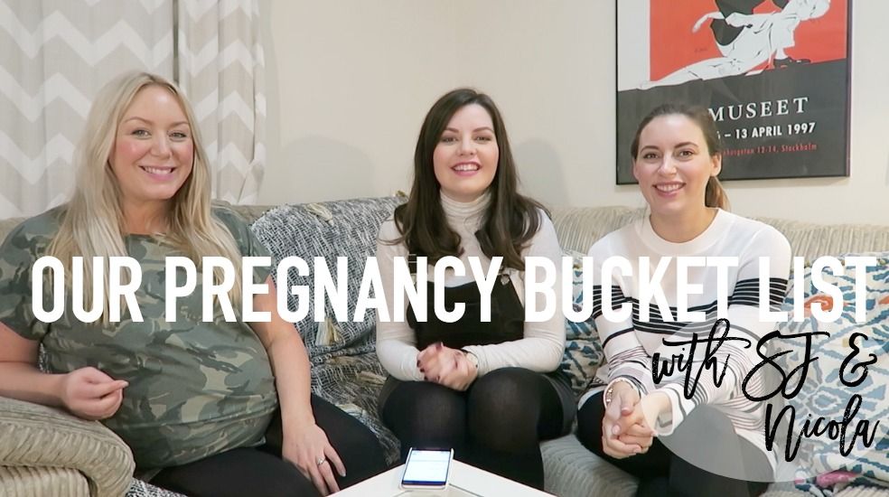 Our Pregnancy Bucket List - Roseyhome - pregnancy, bucket list, advice, mums, mama, pregnant, parenting