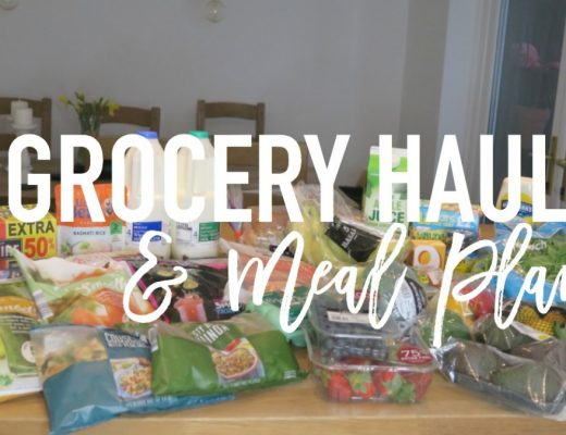 Grocery haul and Meal Plan - 23 January 2017 - Roseyhome - food, grocery haul, Iceland, meal inspiration, meal plan, family food