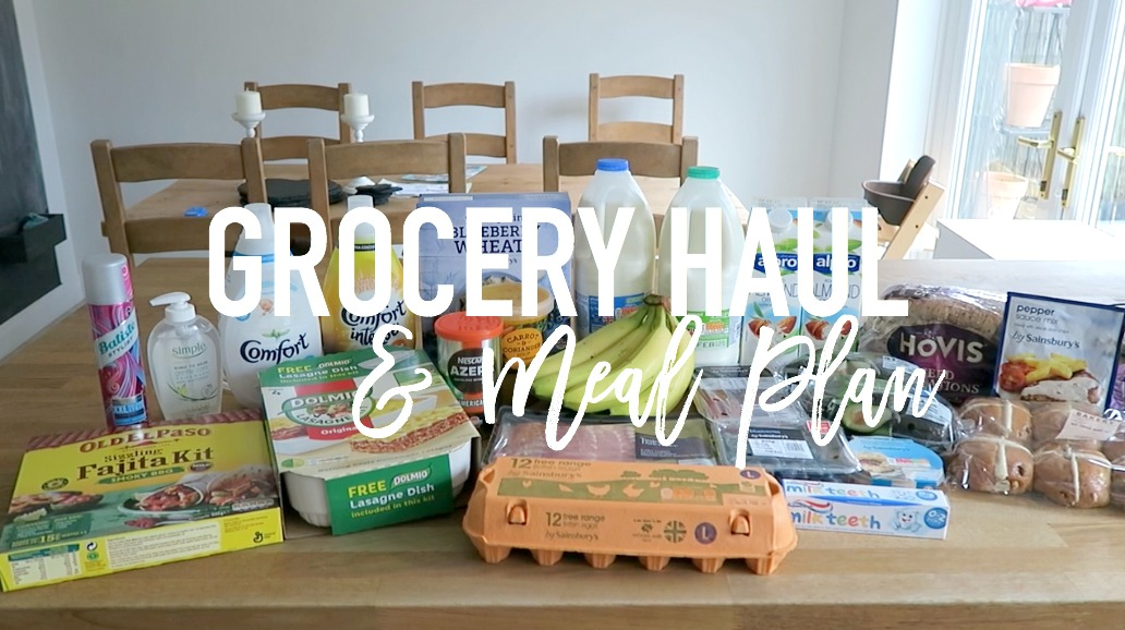 Grocery haul and Meal Plan - 30 January 2017 - Roseyhome - food, grocery haul, Iceland, meal inspiration, meal plan, family food