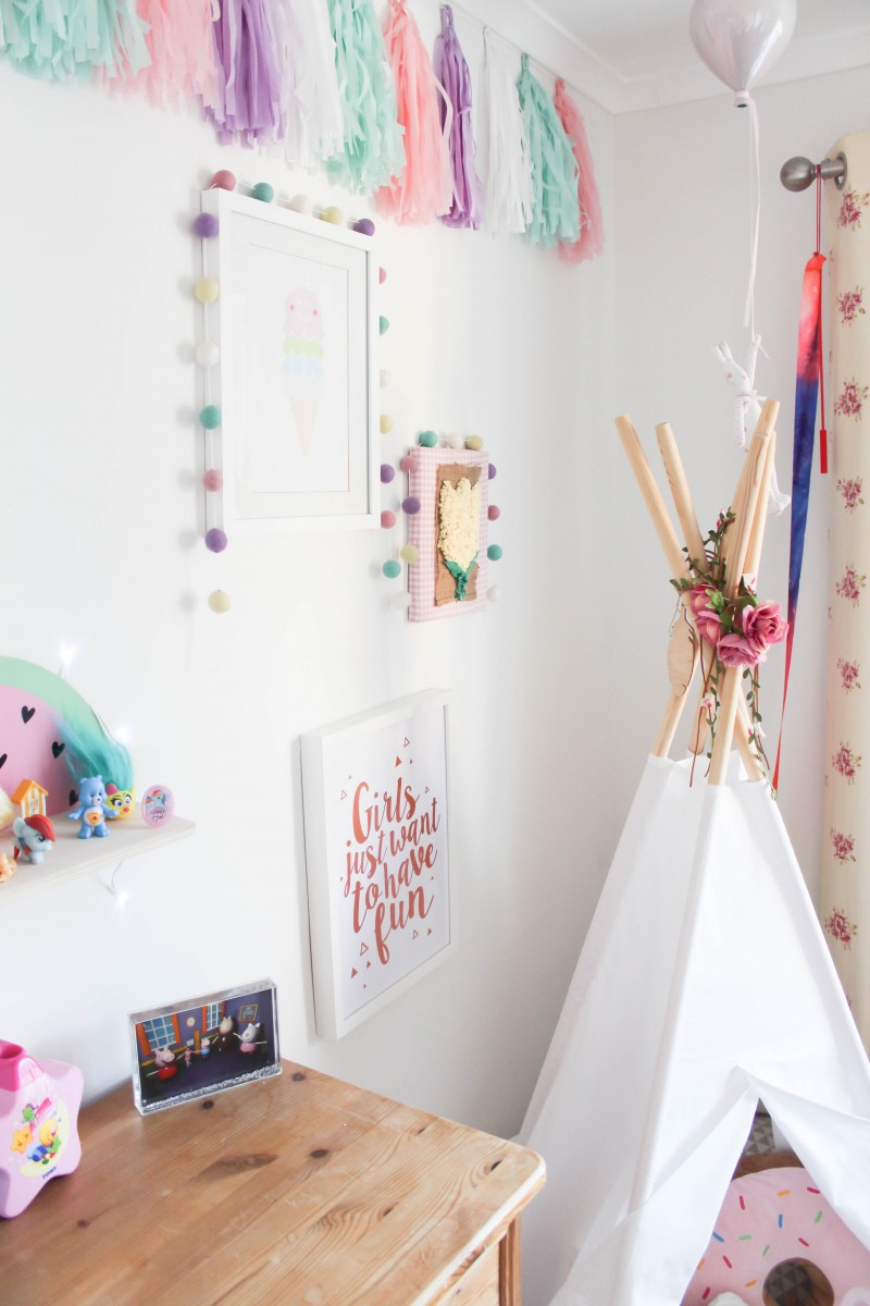 Pastel toddler girl room inspiration roseyhome - Interior design of room for girls ...