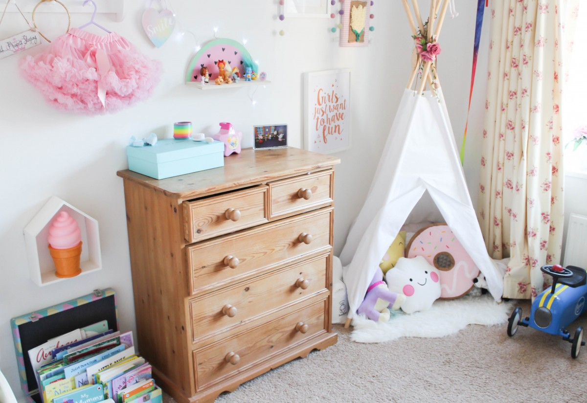 Amelia S Room Toddler Bedroom: Pastel Toddler Girl Room Inspiration