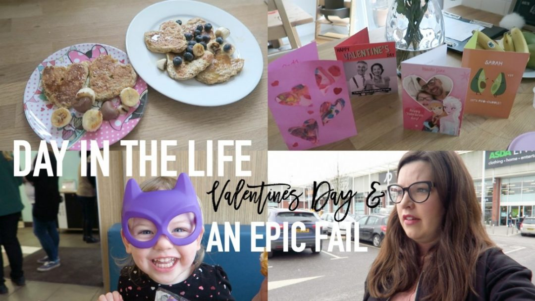 Day in the life - Valentines Day and an EPIC FAIL - Roseyhome - ditl, day in the life of a mum, day in the life of a mom, DITL, day in the life, day in the life of, mom, mum, mother, mama, raising girls, daily vlog, weekly vlog, parenting, vlogger, mummy vlogger, mommy vlogger, uk, london, toddler, child, kid, channel mum, week in the life, WITL, cleaning routine, mummy, mommy, what my kids eat, what i eat in a day, toddler meals, average day for a mum, wiaw, bedtime routine