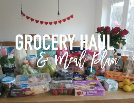 Grocery Haul and Meal Plan - 19th February 2017 - Roseyhome - grocery haul, meal plan, meal inspiration, toddler meals, healthy, feeding a family