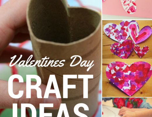 Valentine's Day Crafts - Roseyhome - crafts, toddler, valentines, heart