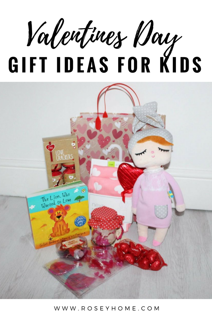 Valentines Day Gift Ideas for Kids - Roseyhome - valentines day, gift bag, gift, treats, valentines, valentines for kids, valentines day gift, valentines day gift basket
