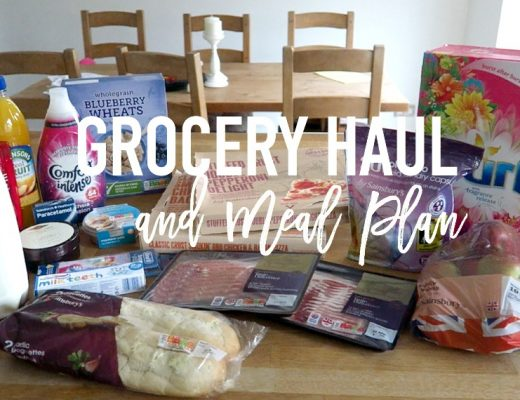 Grocery Haul and Meal Plan - 13th March 2017 - Roseyhome - grocery haul, meal plan, meal inspiration, toddler meals, healthy, feeding a family