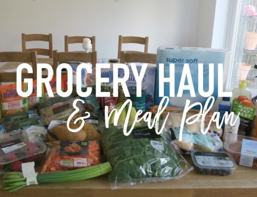 Grocery Haul and Meal Plan - 27th March 2017 - Roseyhome - grocery haul, meal plan, meal inspiration, toddler meals, healthy, feeding a family
