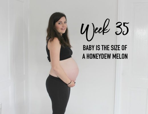 Pregnancy update - 35 weeks - roseyhome - pregnancy, pregnant, baby, mummy, parenting, pregnancy after miscarriage, pregnant with baby no.2