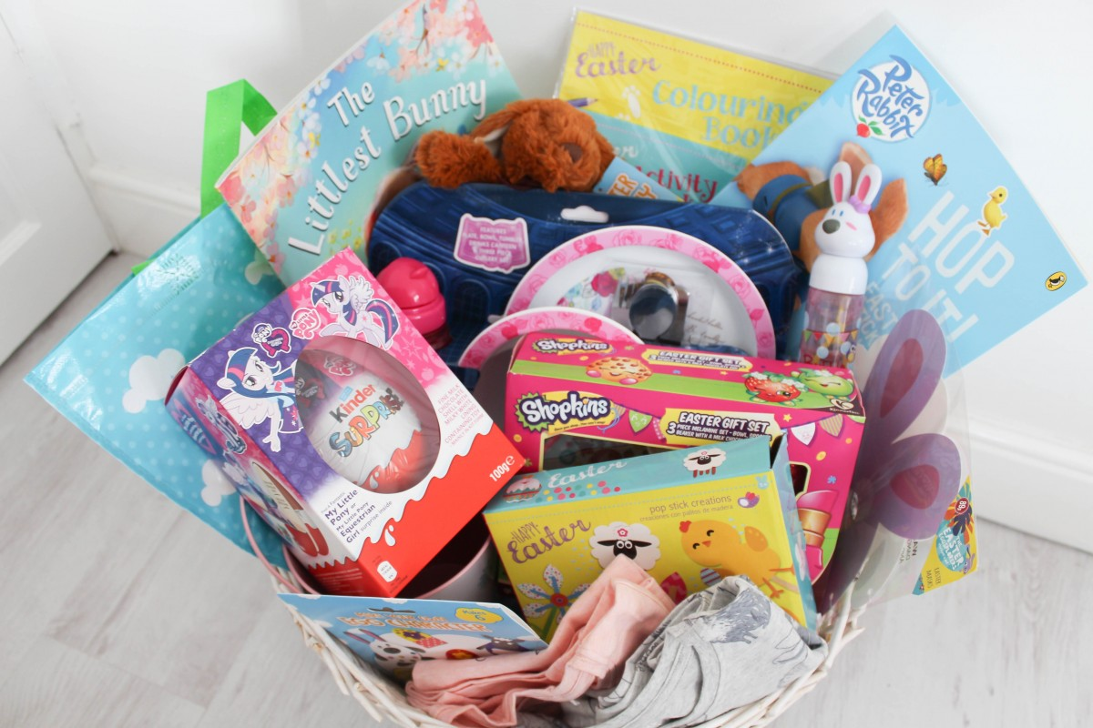 What's in my Kids Easter Basket - Roseyhome - easter, easter basket, kids easter basket, easter gift