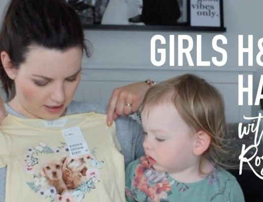 Girls H and M Haul - Roseyhome - fashion, style, girls, kids fashion, kids style, h and m, toddler, kids
