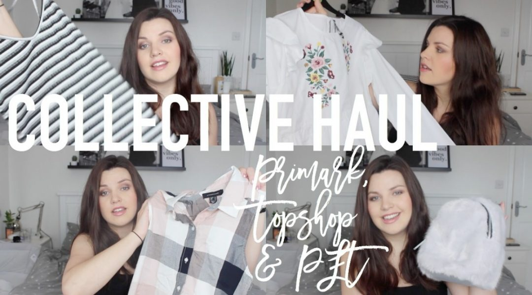 Collective Haul - Roseyhome - primark haul, shopping haul, primark, holiday, spring, summer, topshop, pretty little thing, plt