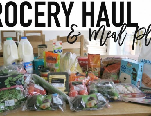 Grocery Haul and Meal Plan - 26th June 2017 - Roseyhome - grocery haul, meal plan, meal inspiration, toddler meals, healthy