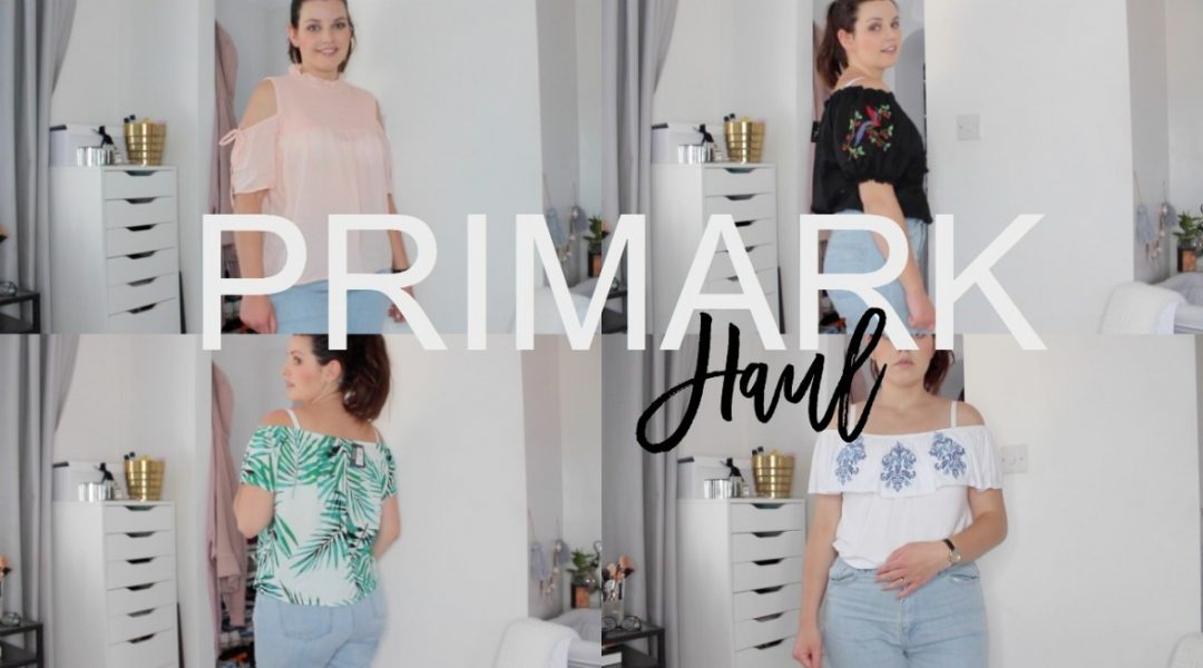 Primark Haul - June 2017 - Roseyhome - primark haul, shopping haul, primark, holiday, spring, summer
