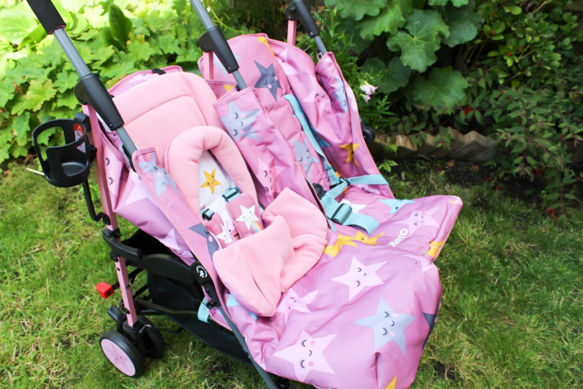 Cosatto Supa Dupa Twin Pushchair Review - Roseyhome - parenting, pushchair, review, stroller, double pushchair, twin pushchair, cosatto