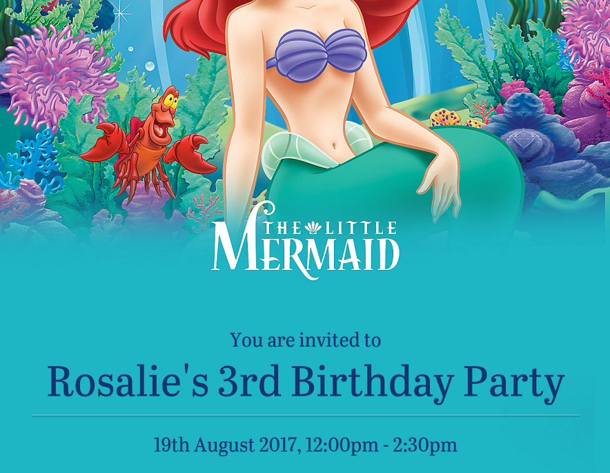 How to Plan the best little mermaid themed party - Roseyhome - party, decor, decorations, the little mermaid, disney