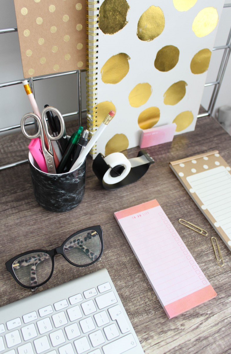 Making the most of your work space - Roseyhome - interiors, home, study, office, work space, inspiration