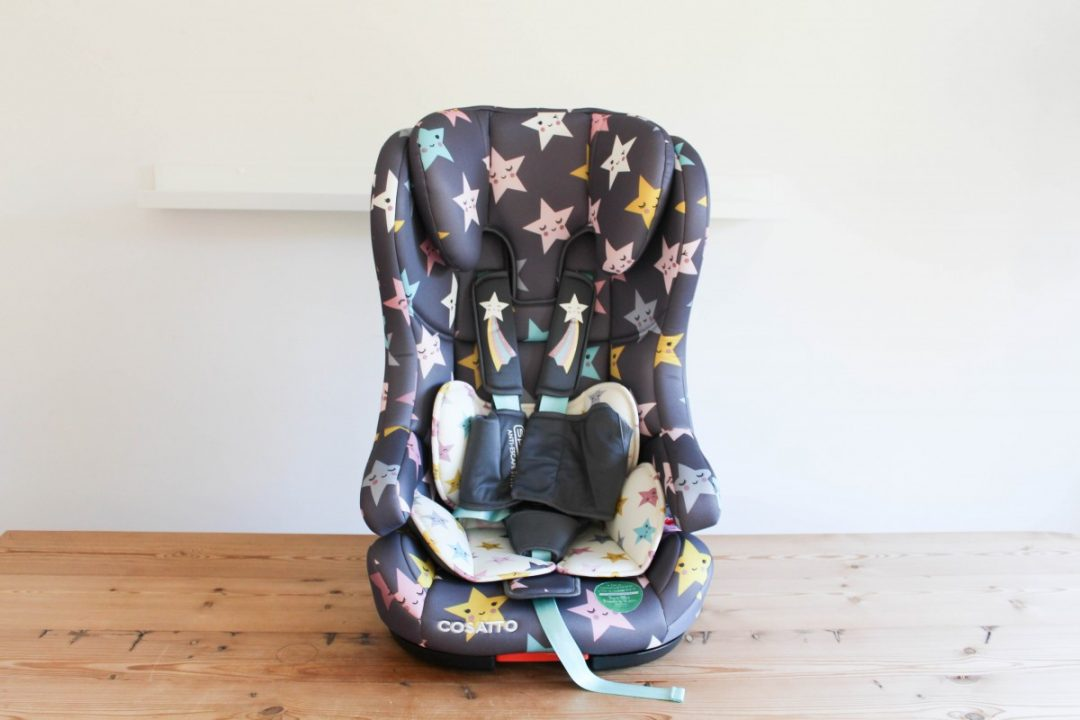 Cosatto Hubbub Isofix Group 1, 2, 3 Car seat Review - Roseyhome