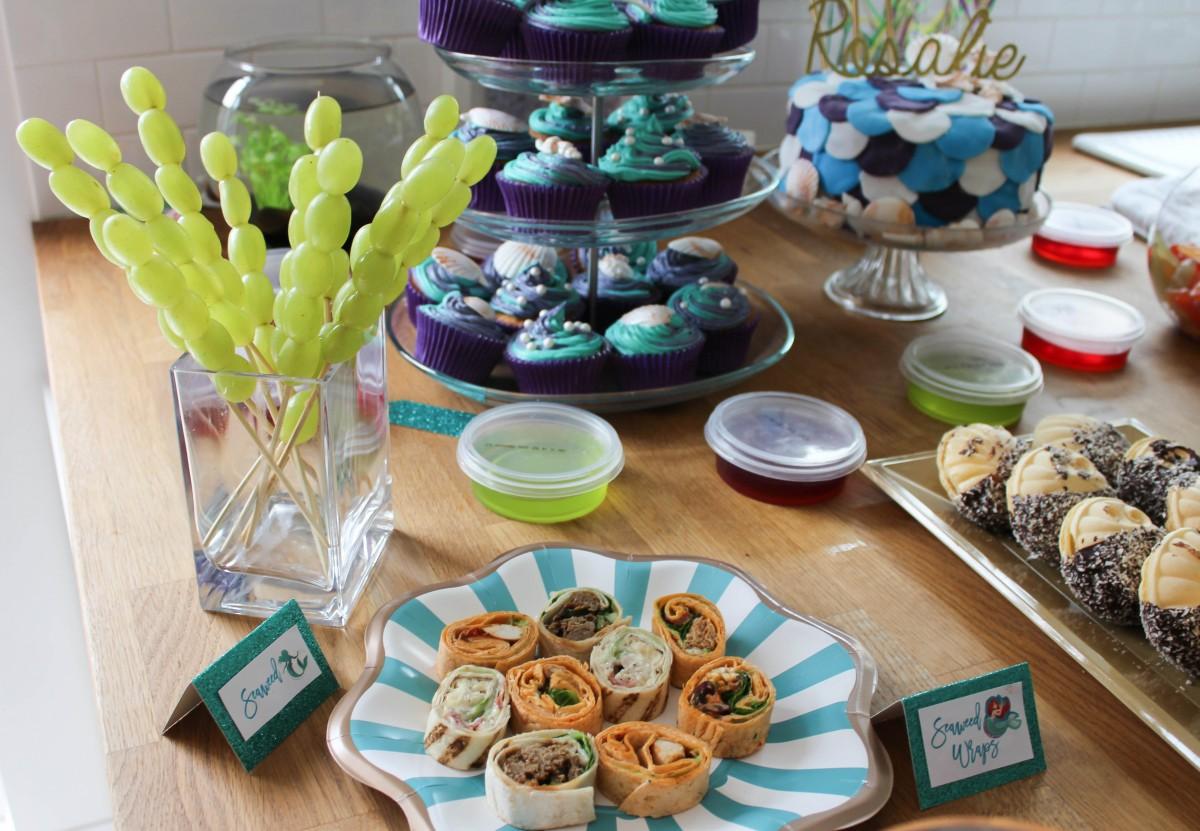 Rosalie's 'the little mermaid' 3rd Birthday Party - Roseyhome - the little mermaid party, birthday party, 3rd birthday, kids party, party decor, decor haul, mermaid party, under the sea party, party, decor, decorations, the little mermaid, disney