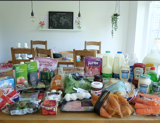 Grocery Haul and Meal Plan - 8th October 2017 - Roseyhome - grocery haul, meal plan, meal inspiration, toddler meals, healthy, weight loss