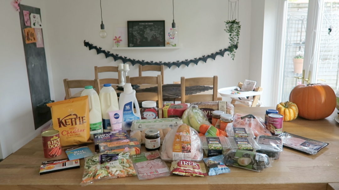 Grocery Haul and Meal Plan - 30th October 2017 - Roseyhome - grocery haul, meal plan, meal inspiration, toddler meals, healthy, weight loss