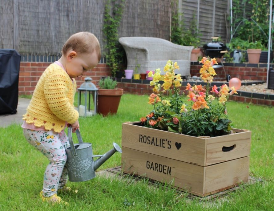 3 eco-friendly home projects to do with kids - roseyhome - garden, kids, family, gardening, eco friendly, home