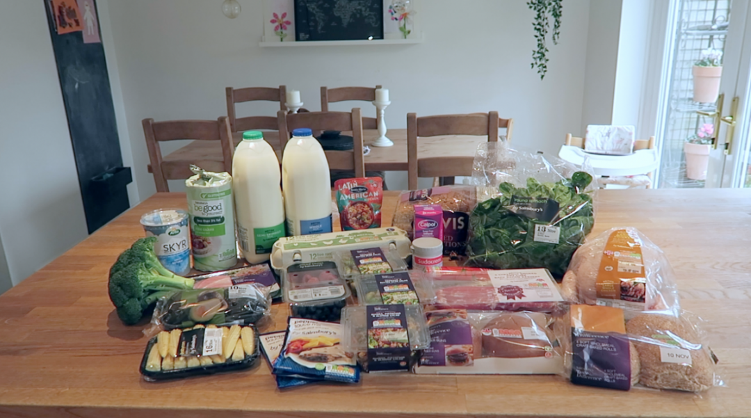 Grocery Haul and Meal Plan - 10th November 2017 - Roseyhome - grocery haul, meal plan, meal inspiration, toddler meals, healthy, weight loss
