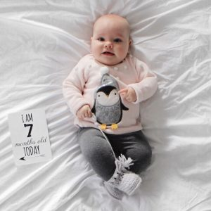 Maeve's 7 month Baby update - Roseyhome -baby update, postpartum update, baby, 7 month update, seven month update