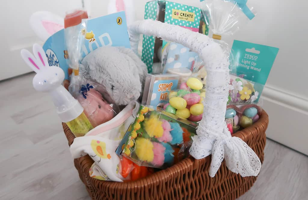 Easter gift basket for kids roseyhome easter gift basket for kids roseyhome gift basket easter gift ideas gift negle Image collections
