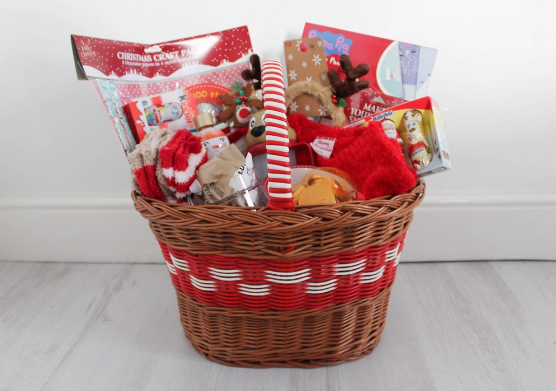 Toddler Advent Basket Ideas - Roseyhome - Toddler, Advent basket, christmas eve basket, treats, christmas, festive