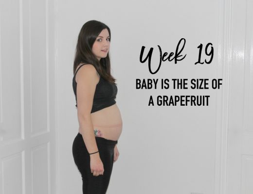 Pregnancy update - 19 weeks - roseyhome - pregnancy, pregnant, baby, mummy, parenting, pregnancy after miscarriage, pregnant with baby no.2