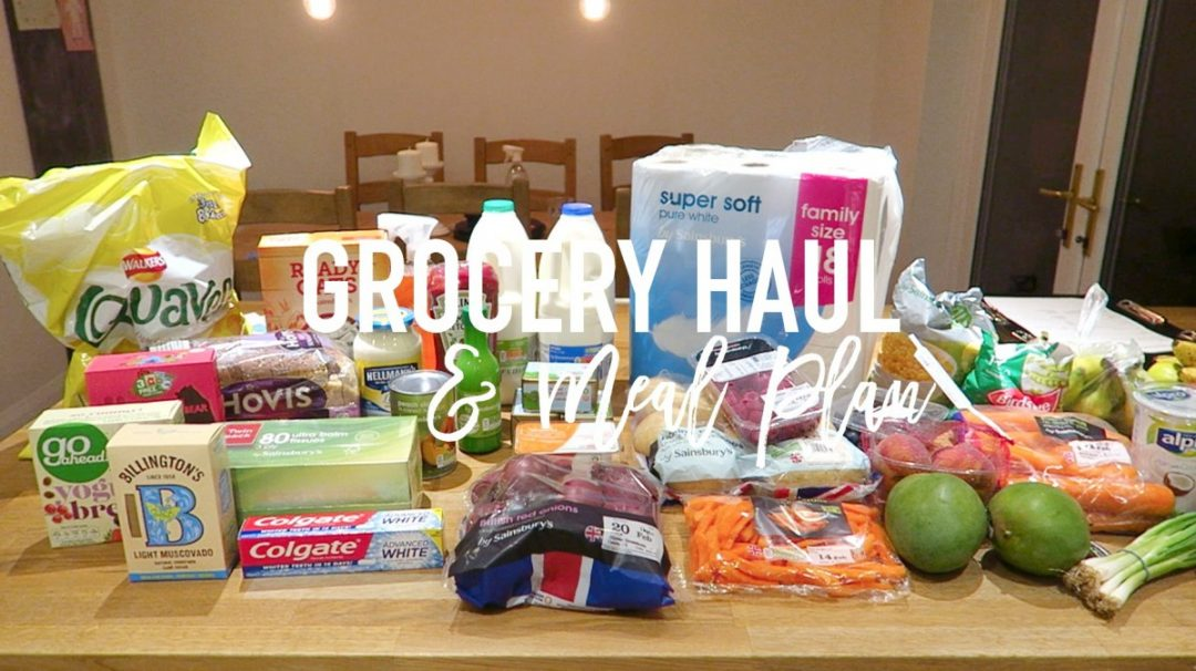 Grocery Haul and Meal Plan - 13th February 2017 - Roseyhome - grocery haul, meal plan, meal inspiration, toddler meals, healthy, feeding a family