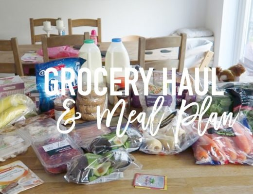 Grocery Haul and Meal Plan - 15th May 2017 - Roseyhome - grocery haul, meal plan, meal inspiration, toddler meals, healthy