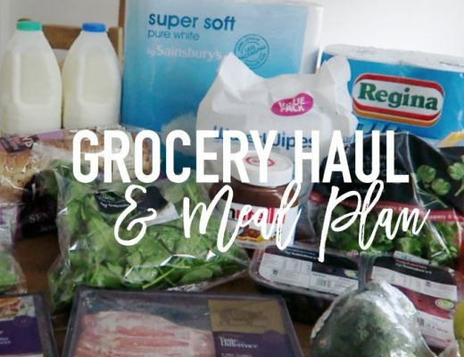 Grocery Haul and Meal Plan - 22nd May 2017 - Roseyhome - grocery haul, meal plan, meal inspiration, toddler meals, healthy