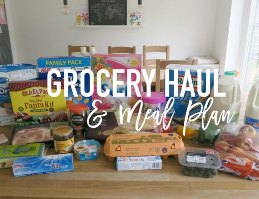 Grocery Haul and Meal Plan - 8th May 2017 - Roseyhome - grocery haul, meal plan, meal inspiration, toddler meals, healthy