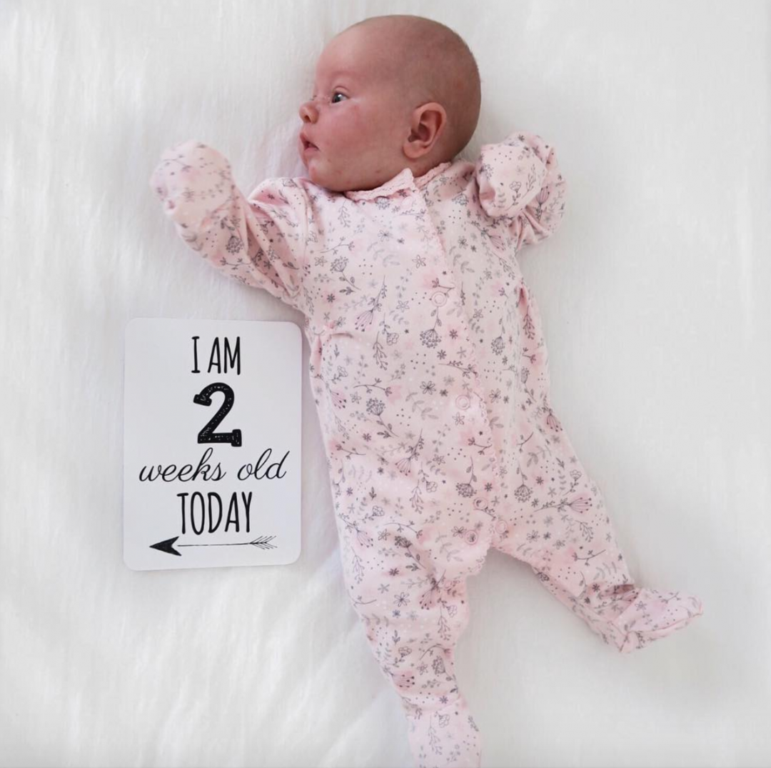 Maeve's 2 week update - Roseyhome - baby update, postpartum update, baby, newborn, 2 week update, second week update