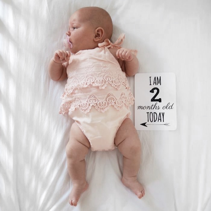 2 month old baby update - Roseyhome - baby update, postpartum update, baby, newborn, 2 month update, two month update