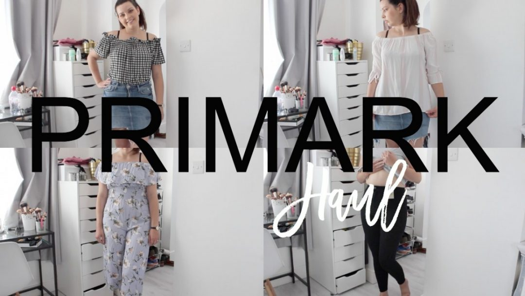 Primark Haul - July 2017 - Roseyhome - primark haul, shopping haul, primark, holiday, spring, summer