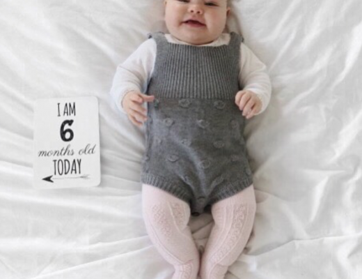 Maeve's 6 month Baby update - Roseyhome -baby update, postpartum update, baby, 6 month update, six month update